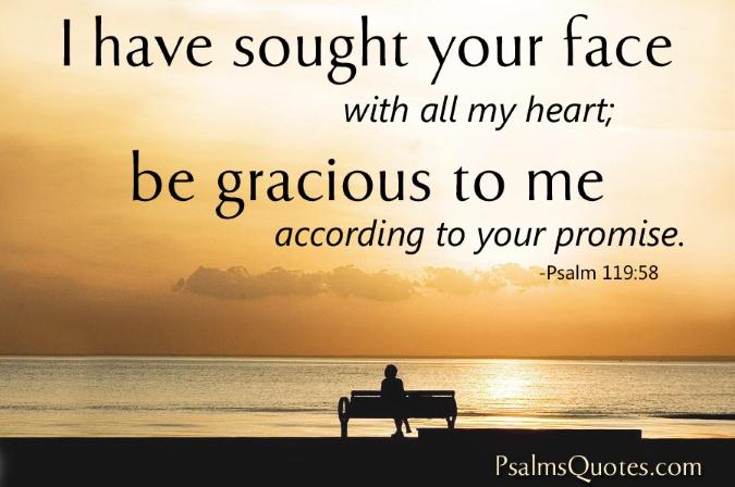 Psalms 119 58
