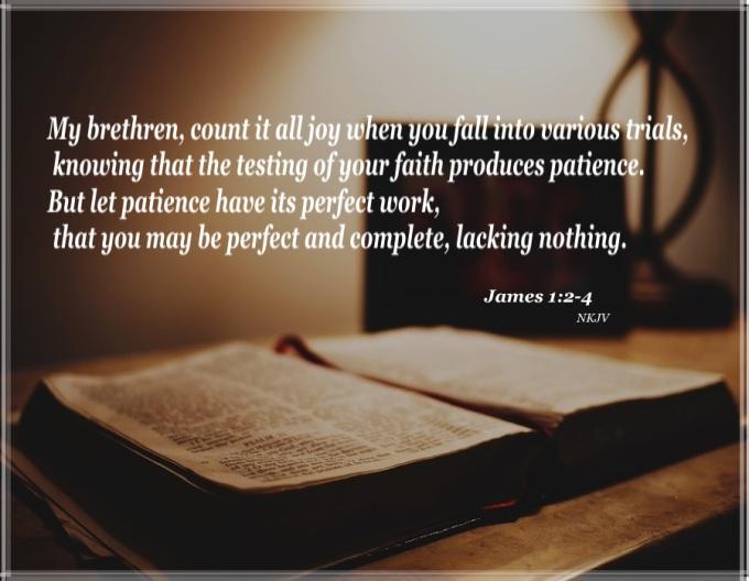 James 1 2-4