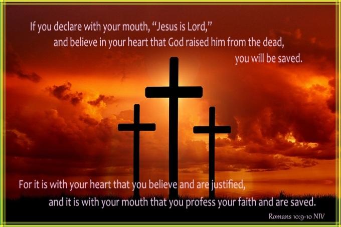 Romans 10 9