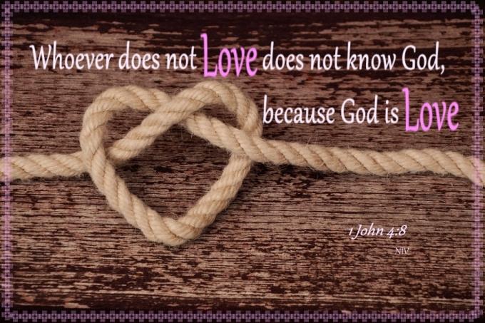 1 John 4 8