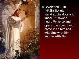 behold i knock