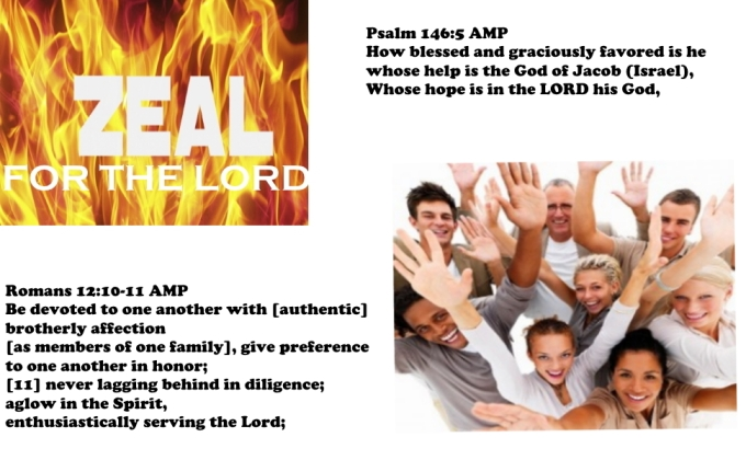 ZEAL FOR THE LORD Psalms 146 Romans 12