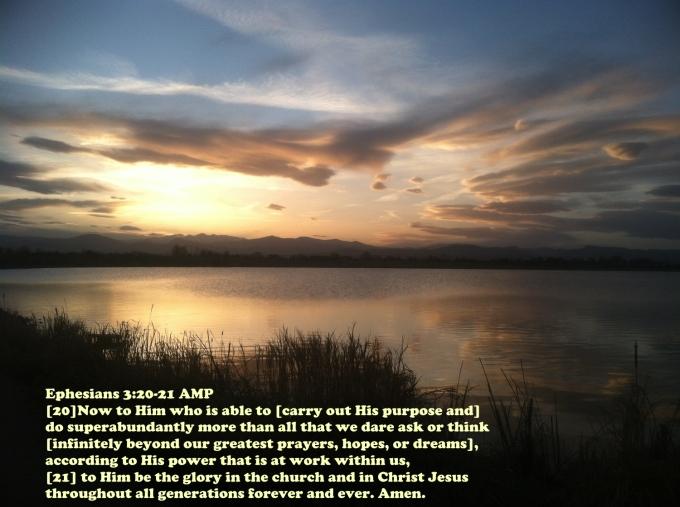 Ephesians 3 20-21 07-06-2020