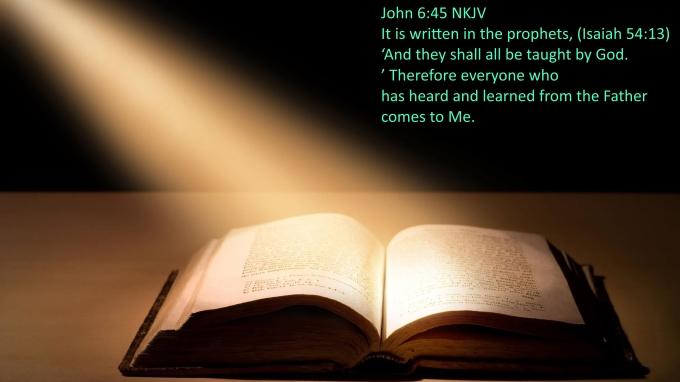 John 6 45 07-18-2020
