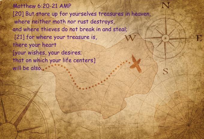 Matthew 6 20 21 07-15-2020