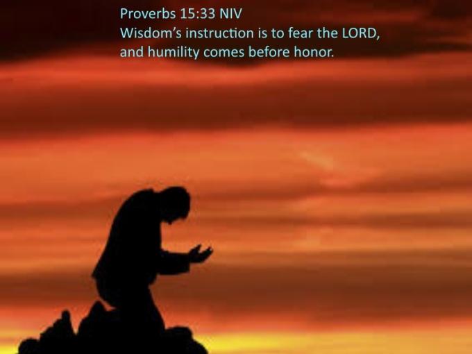 Proverbs 15 33 07-12-2020