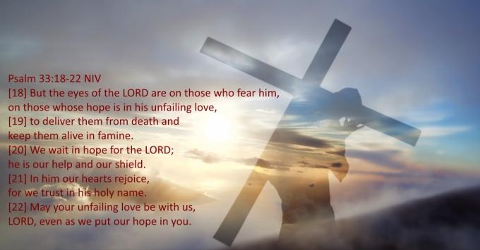 Psalms 33 18 22 07-25-2020