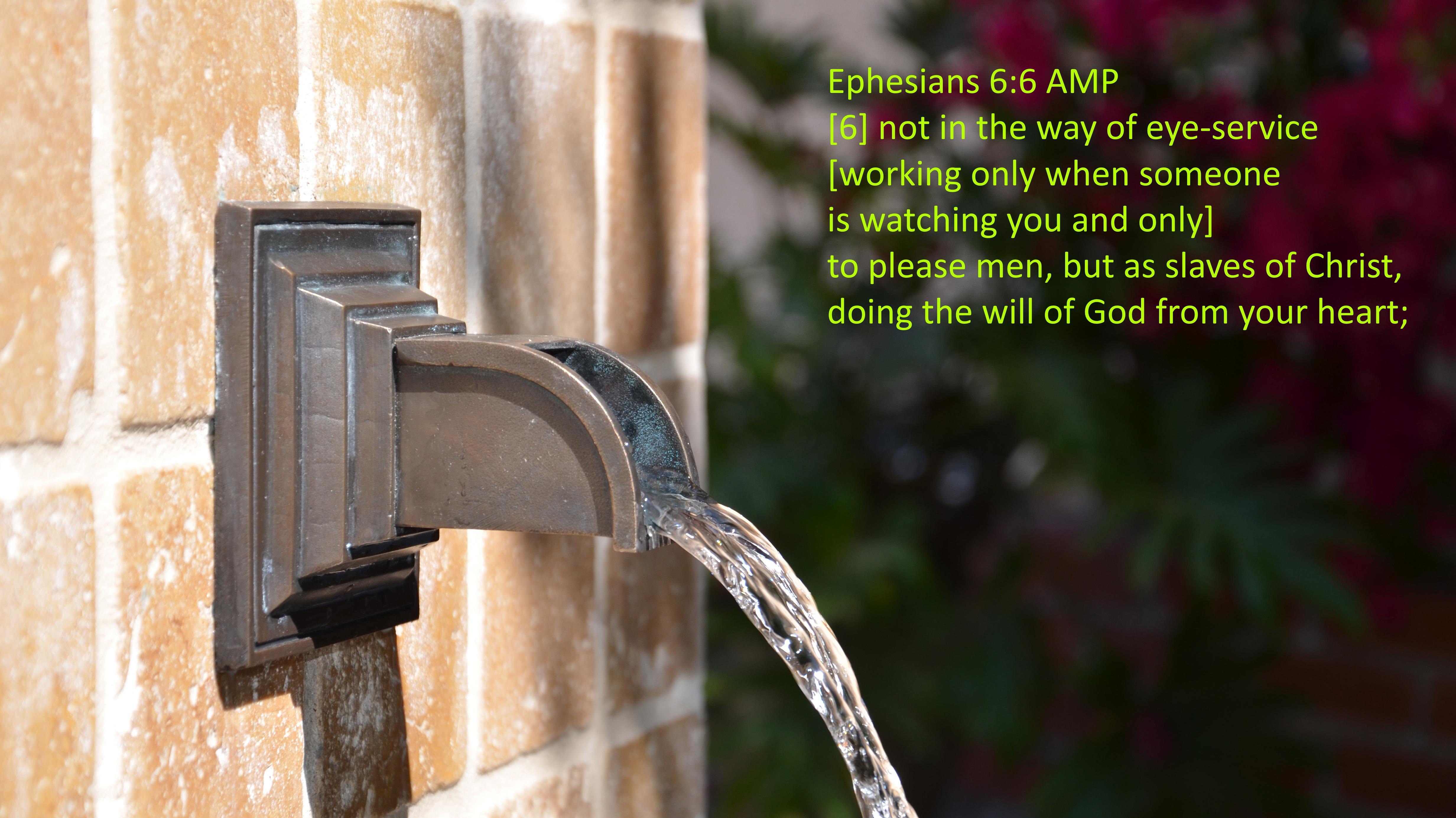 Ephesians 6 6 08-10-2020