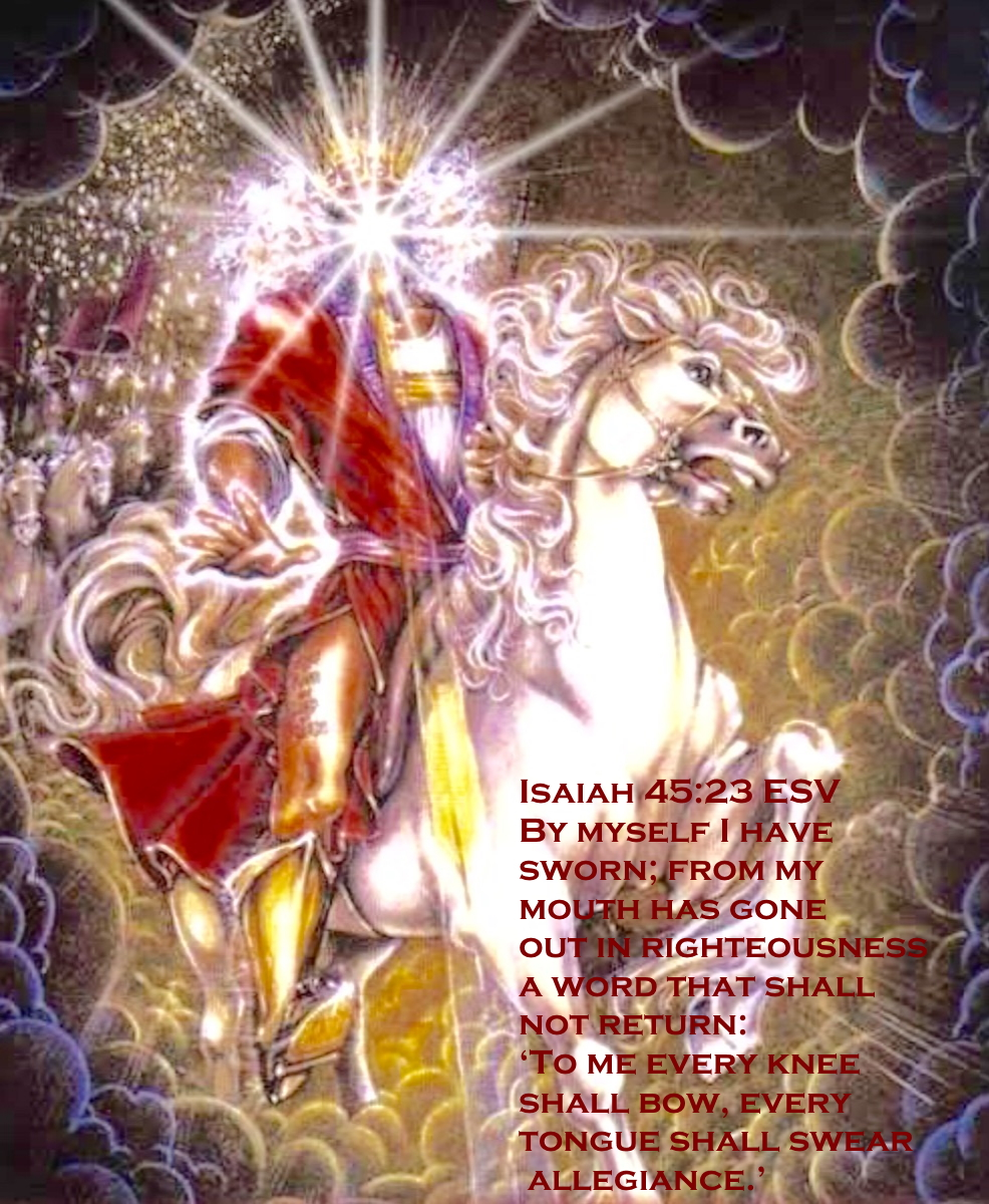 Isaiah 45 23 08-17-2020