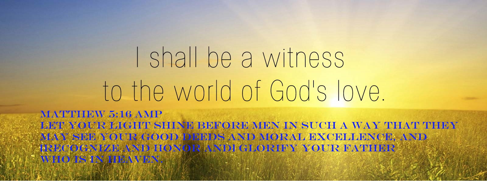 Matthew 5 16 08-12-2020