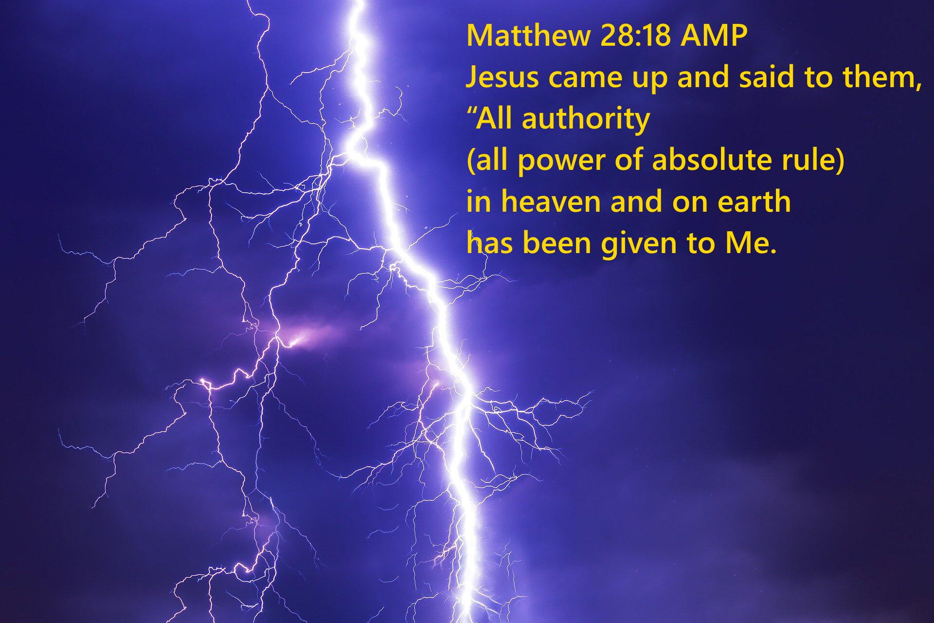 Matthew 28 18 10-16-2020