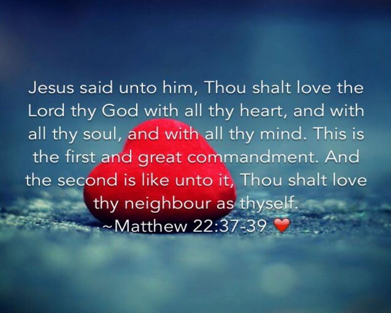 Matthew 22-37--39 01-01-2021